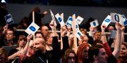 Liberaler röstar på landsmötet 2017.  Pontus Lundahl/TT / TT NYHETSBYRÅN