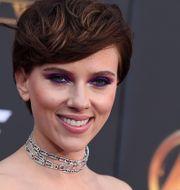 """Scarlett Johansson vid premiären av """"Avengers: Infinity War"""" av Disney-ägda Marvel. Jordan Strauss / TT NYHETSBYRÅN"""