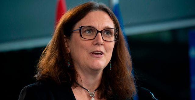 Cecilia Malmström  SEBASTIEN ST-JEAN / AFP