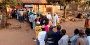 Kö till en vallokal i samband med valet 2014 Youssouf Bah / TT NYHETSBYRÅN/ NTB Scanpix