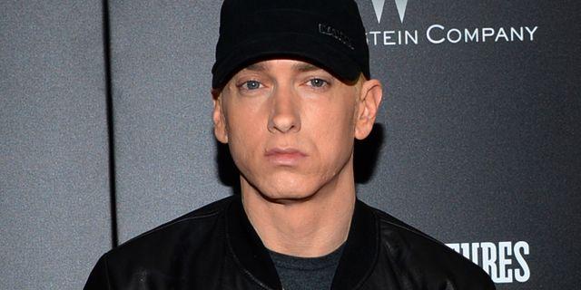Arkivbild: Eminem 2015 Evan Agostini / TT / NTB Scanpix