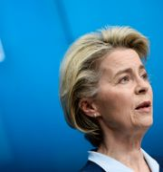 EU-kommissionens ordförande Ursula von der Leyen. Johanna Geron / TT NYHETSBYRÅN
