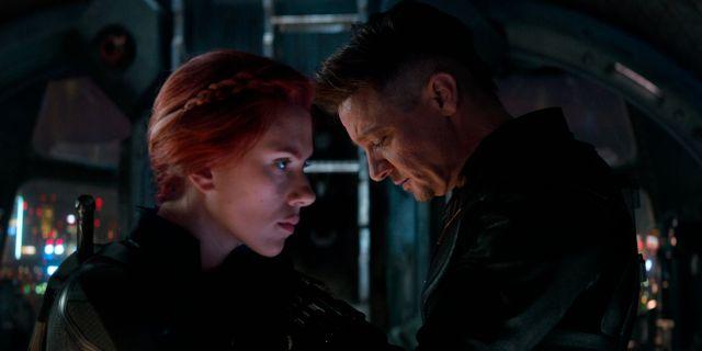 """Scarlett Johansson och Jeremy Renner i storfilmen """"Avengers: Endgame"""".  TT NYHETSBYRÅN"""