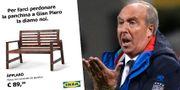 Ikeas pik mot Gian Piero hyllas i Italien. Ikea/TT