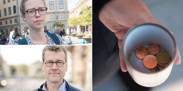 Åsa Lindhagen, socialborgarråd Stockholms stad (MP) och Ulf Kamne, kommunalråd Göteborgs stad (MP).