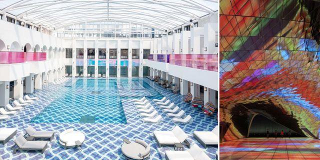 Paradise City beskrivs som världens mest glamorösa flygplatshotell. Paradise City