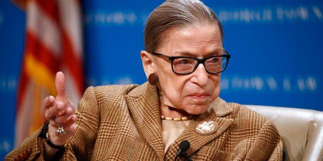 Ruth Bader Ginsburg. Patrick Semansky / TT NYHETSBYRÅN