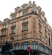 Varuhuset Harrod's i London. Alastair Grant / TT NYHETSBYRÅN