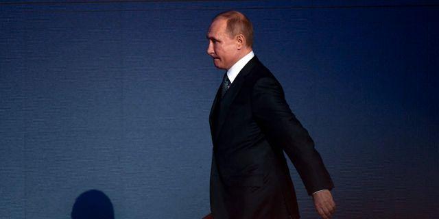 Vladimir Putin YURI KADOBNOV / AFP