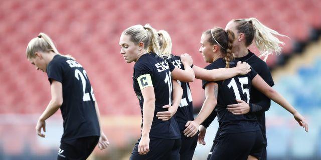 Göteborg FC under mötet med IFK Kalmar.  Thomas Johansson/TT / TT NYHETSBYRÅN