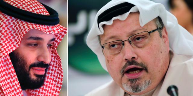 Kronprins Mohammed bin Salman och Jamal Khashoggi TT