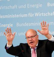 Arkivbild: Tysklands ekonomiminister Peter Altmaier.  Markus Schreiber / TT NYHETSBYRÅN