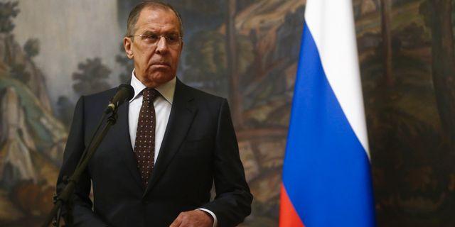Rysslands utrikesminister Sergej Lavrov. SERGEI KARPUKHIN / TT NYHETSBYRÅN