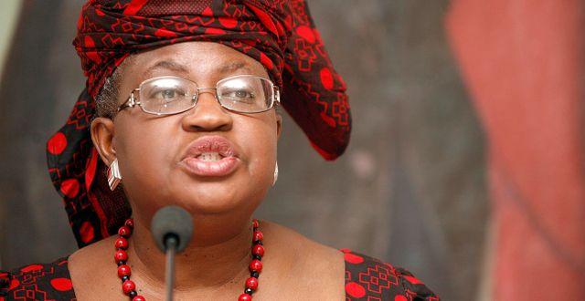 Arkivbild: Ngozi Okonjo-Iweala HEKTOR PUSTINA / TT NYHETSBYRÅN