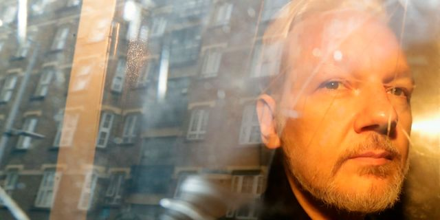 Julian Assange. Matt Dunham / TT NYHETSBYRÅN/ NTB Scanpix