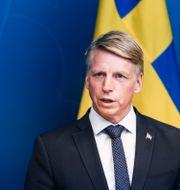 Per Bolund. Erik Simander/TT / TT NYHETSBYRÅN