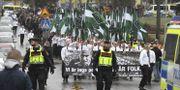 Arkivbild. NMR demonstrerar i Ludvika på 1 maj. Ulf Palm/TT / TT NYHETSBYRÅN