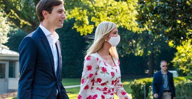 Jared Kushner och Ivanka Trump.  Manuel Balce Ceneta / TT NYHETSBYRÅN