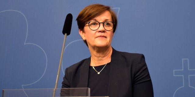 Katrin Westling Palm.  Olle Lindström /TT / TT NYHETSBYRÅN