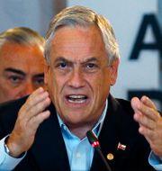 Chiles avgående president Sebastian Pinera. Fernando Vergara / AP