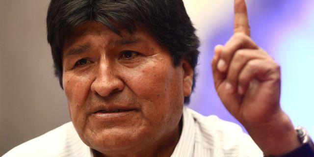 Evo Morales. EDGARD GARRIDO / TT NYHETSBYRÅN