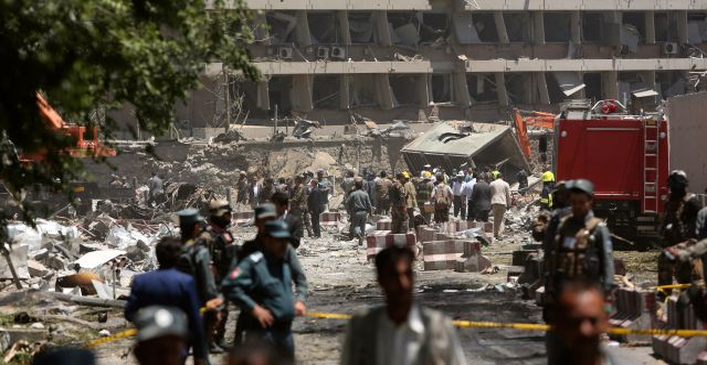 Attacken den 31 maj i Kabul. Rahmat Gul / TT / NTB Scanpix