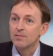 Vaccinsamordnare Magnus Thyberg. TT/SVT