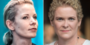 Anna König Jerlmyr (M), finansborgarråd/Karin Wanngård (S)  TT