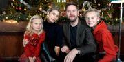 Storm på Lugna gatan. Från vänster: Maja Söderström, Cecilia Forss, Henrik Johansson och Adrian Macéus. Janerik Henriksson/TT / TT NYHETSBYRÅN