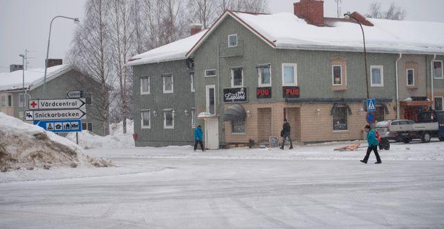 Bild från Pajala i Norrbotten Fredrik Sandberg/TT / TT NYHETSBYRÅN