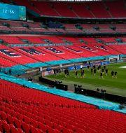 Wembley.  Matt Dunham / TT NYHETSBYRÅN