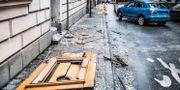 Bild från explosion på Nytorgsgatan i Stockholm Tomas Oneborg/SvD/TT / TT NYHETSBYRÅN