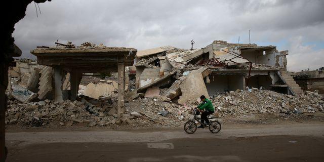 Damaskus BASSAM KHABIEH / TT NYHETSBYRÅN