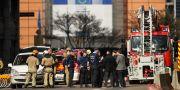Insatsen efter bombhotet. Francisco Seco / TT NYHETSBYRÅN/ NTB Scanpix