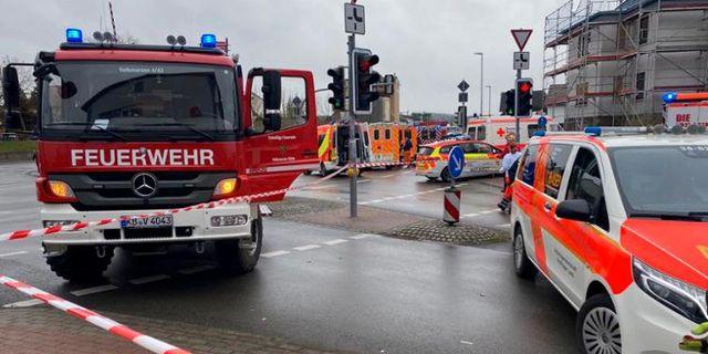 Bild från platsen.  Elmar Schulten / TT NYHETSBYRÅN