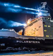 Polarstern. Alfred-Wegener-Institut/Stefan Hendricks / TT NYHETSBYRÅN