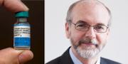 Mässlingsvaccin/professorn Andrew Pollard. TT/Oxford University
