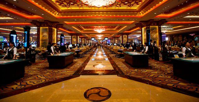 Arkivbild: Sands Cotai Central i Macao.  Kin Cheung / TT NYHETSBYRÅN