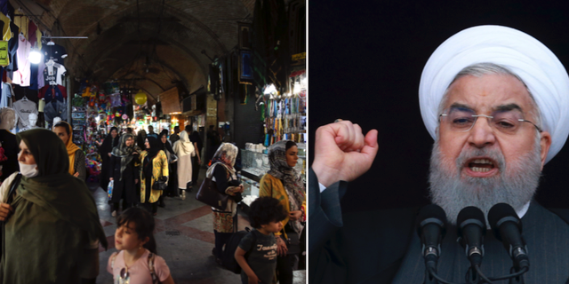 Folkliv i Teheran/President Hassan Rouhani TT