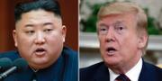 Kim och Trump, arkivbilder. TT