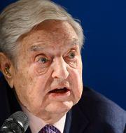George Soros.  FABRICE COFFRINI / AFP