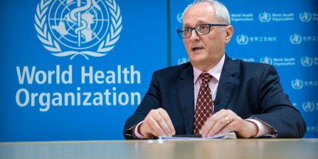Gauden Gealea, WHO:s representant i Kina. Mark Schiefelbein / TT