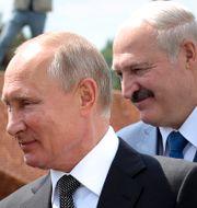 Putin och Lukasjenko i juni 2020 Mikhail Klimentyev / TT NYHETSBYRÅN