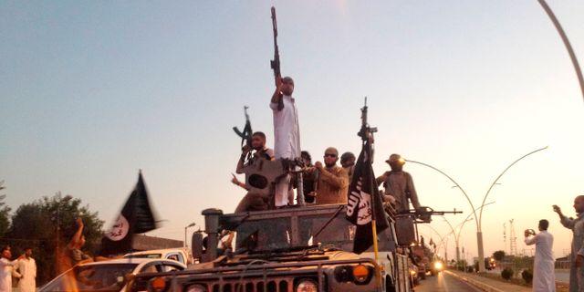 IS-krigare i Irak. Arkivbild. TT NYHETSBYRÅN/ NTB Scanpix