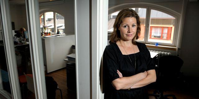 Christina Heilborn, barnrättsjurist på UNICEF Sverige JANERIK HENRIKSSON / TT / TT NYHETSBYRÅN