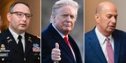 Alexander Vindman/Donald Trump/Gordon Sondland. TT