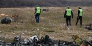 Räddningspersonal på plats efter olyckan år 2014 Mstyslav Chernov / TT NYHETSBYRÅN