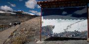 Smältande glaciärer i Peru.  Martin Mejia / TT NYHETSBYRÅN/ NTB Scanpix