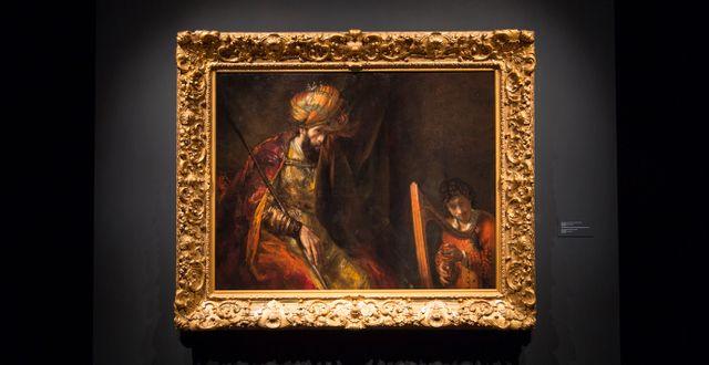 En Rembrandttavla i Nederländerna. Ivo Hoekstra / TT / NTB Scanpix
