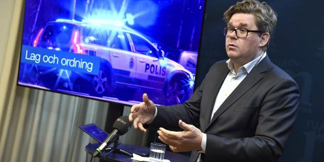 Polisen har presstraff om dante 12